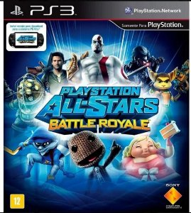 Playstation All-Stars: Battle Royale - PS3 (usado)