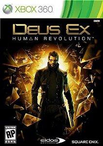 Deus EX: Human Revolution - Xbox 360 (usado)