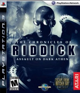 The Chronicles of Riddick: Assault On Dark Athena - PS3 (usado)