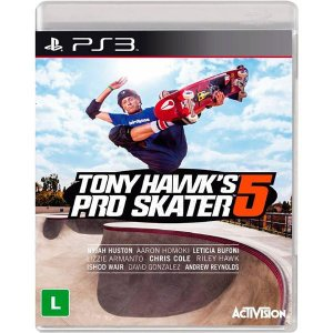 PS3 Tony Hawk´s Pro Skater 5