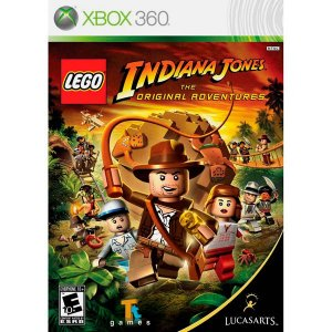 X360 Lego Indiana Jones - The Original Adventures (usado)