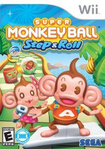 Wii Super Monkey Ball - Step & Roll (usado)