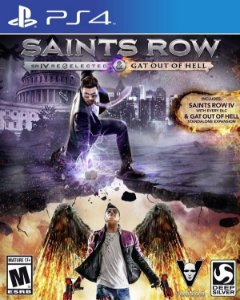 Saints Row IV: Re-Elected e Gat Out of Hell - PS4 (usado)