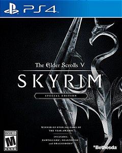 PS4 The Elder Scrolls V Skyrim - Special Edition (usado)