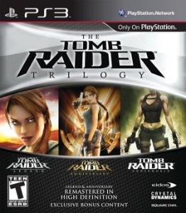 Tomb Raider: Trilogy - PS3 (usado)