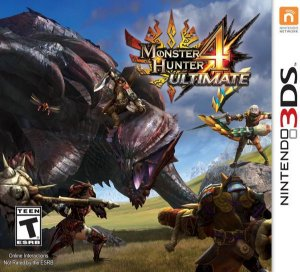 3DS Monster Hunter 4 Ultimate (usado)