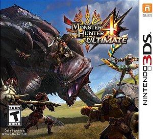 3DS Monster Hunter 4 Ultimate (usado)