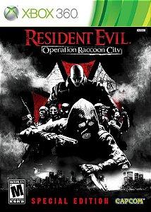 X360 Resident Evil - Operation Raccoon City Steelbok (usado)