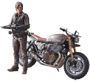 Daryl Dixon: Custom Bike The Walking Dead - Color Tops Mcfarlane Toys