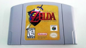 N64 The Legend of Zelda - Ocarina of Time (usado)