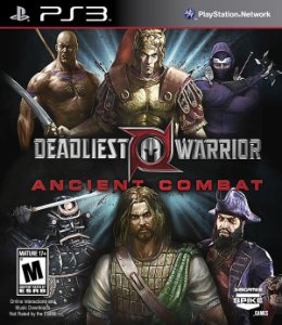 PS3 Deadliest Warrior - Ancient Combat (usado)