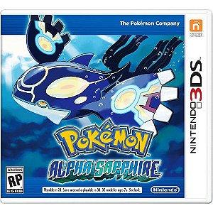 Pokemon Alpha Sapphire - 3DS (usado)