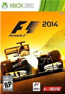 X360 Formula 1 2014 (usado)