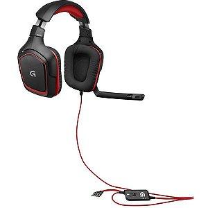 Headset Stereo Gaming G230 Logitech PC