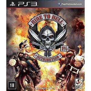 Ride To Hell: Retribution - PS3 (usado)