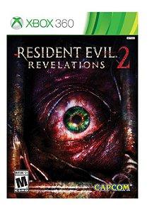 Resident Evil: Revelations 2 - Xbox 360 (usado)