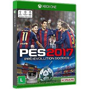 PES 2017: Pro Evolution Soccer - Xbox One (usado)