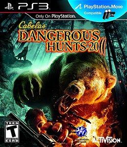 PS3 Cabela´s Dangerous Hunts 2011 (usado)