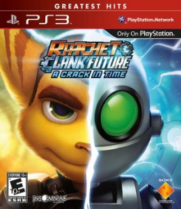 PS3 Ratchet & Clank Future  - A Crack in Time (usado)