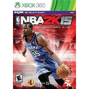 X360 NBA 2K15 (usado)