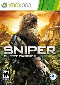 X360 Sniper - Ghost Warrior (usado)