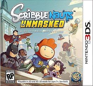 Scriblenauts Unmasked - 3DS (usado)