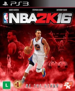 NBA 2K16 - PS3 (usado)