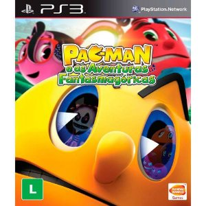 Pac-Man: E as Aventuras Fantasmagóricas - PS3 (usado)