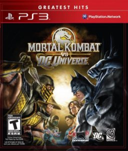 Mortal Kombat Vs DC Universe - PS3 (usado)