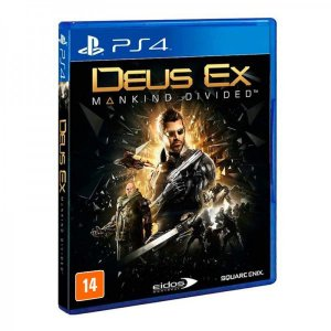 Deux EX: Mankind Divided - PS4 (usado)