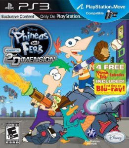 Phineas And Ferb: Across The 2nd Dimension - PS3 (usado)
