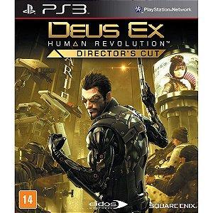 Deus EX: Human Revolution - Director´s Cut - PS3 (usado)