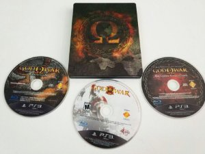 God of War Collection Steelbook - PS3 (usado)