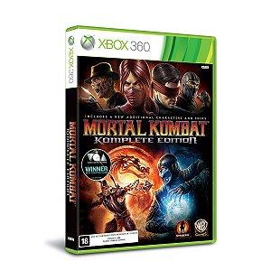 Mortal Kombat: Komplete Edition - Xbox 360 (usado)