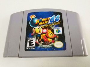 Bomberman 64: The Second Attack - N64 (usado)