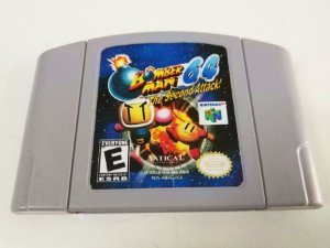 BOMBERMAN - THE SECOND ATTACK USADO (N64)