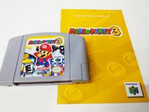 Mario Party 3 - N64 Relabel (usado)