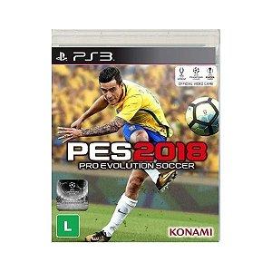 PES 2018 - Pro Evolution Soccer - PS3