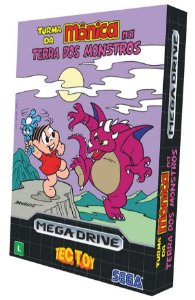 Turma da Monica: Na Terra dos Monstros - Mega Drive