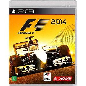 Formula 1 2014 - PS3 (usado)