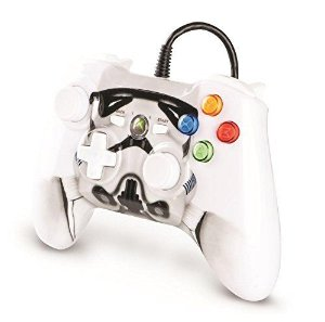 Controle Xbox 360 Power A C/ Fio: Star Wars Stormtrooper