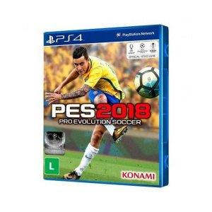 PES 2018: Pro Evolution Soccer - PS4 (usado)