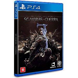 Terra Media: Sombras da Guerra - PS4