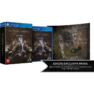 Terra Media: Sombras da Guerra Edição Exclusiva - PS4