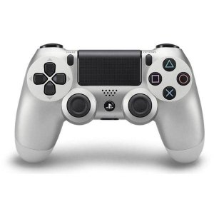 Controle PS4 DualShock 4 Silver CUH-ZCT2U