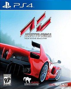 Asseto Corsa: Your Racing Simulator - PS4 (usado)