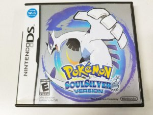 Pokemon Soul Silver Version - DS (usado)