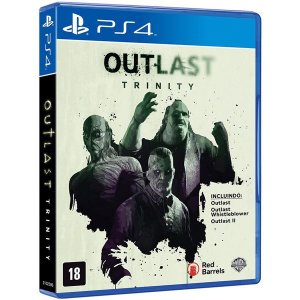 Outlast: Trinity - PS4 (usado)