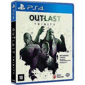 Outlast: Trinity - PS4 (usado)
