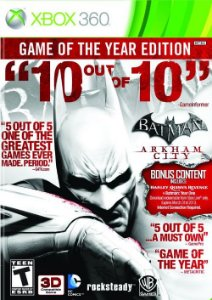 Batman Arkham City: Goty Edition - Xbox 360 (usado)